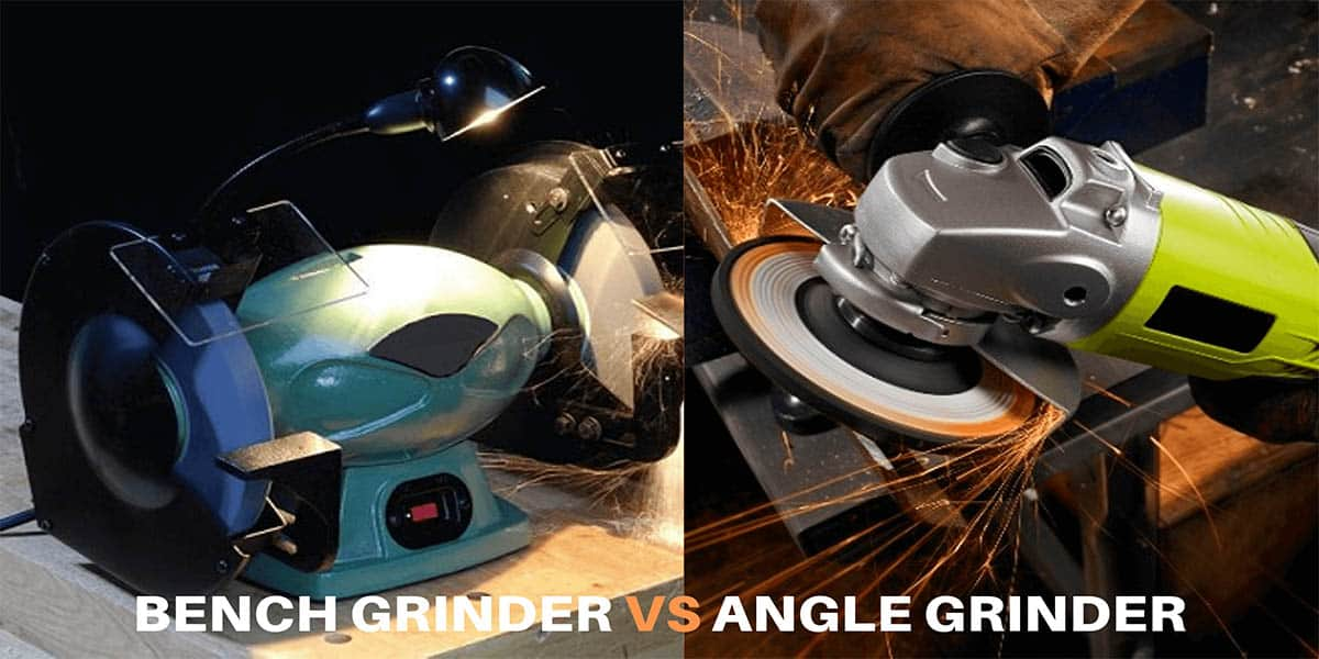 Superb Bench Grinder Vs Angle Grinder What Are The Differences Customarchery Wood Chair Design Ideas Customarcherynet